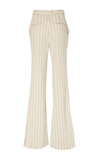 Pamela Wide Leg Linen Stripe Pant by BROCK COLLECTION for Preorder on Moda Operandi
