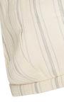 Triangle Linen Stripe Bra by BROCK COLLECTION for Preorder on Moda Operandi