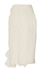 Stacey Ruffle Linen Skirt by BROCK COLLECTION for Preorder on Moda Operandi