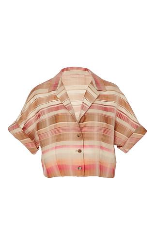 Tessa Desert Stripe Top by BROCK COLLECTION for Preorder on Moda Operandi