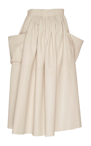 Stella Paper Leather Skirt by BROCK COLLECTION for Preorder on Moda Operandi