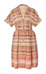 Donna Desert Stripe Shirt Dress by BROCK COLLECTION for Preorder on Moda Operandi