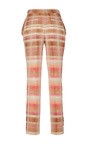 Paige Desert Stripe Cigarette Pant by BROCK COLLECTION for Preorder on Moda Operandi
