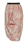 Selena Abstract Floral Tulip Skirt by BROCK COLLECTION for Preorder on Moda Operandi