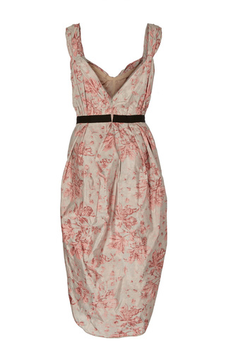 Deandra Abstract Floral Tulip Dress by BROCK COLLECTION for Preorder on Moda Operandi