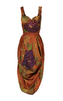 Deandra Floral Jacquard Tulip Dress by BROCK COLLECTION for Preorder on Moda Operandi