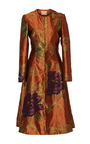 Carine Floral Jacquard Coat by BROCK COLLECTION for Preorder on Moda Operandi