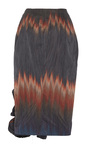 Stacey Ruffle Fire Stripe Skirt by BROCK COLLECTION for Preorder on Moda Operandi