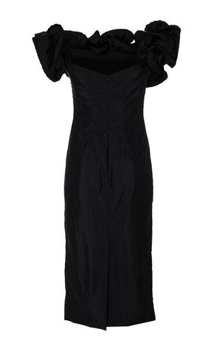 Desiree Off The Shoulder Lightweight Taffeta Dress by BROCK COLLECTION for Preorder on Moda Operandi