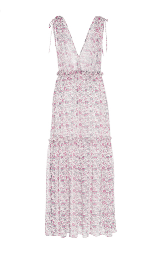 Chantelle Printed Sleeveless Dress by ULLA JOHNSON for Preorder on Moda Operandi