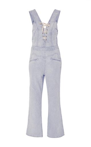 Vega Lace Up Jumpsuit by ULLA JOHNSON for Preorder on Moda Operandi