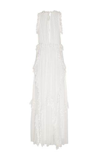 Florence Ruffle Lace Gown by ULLA JOHNSON for Preorder on Moda Operandi