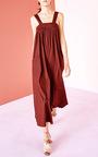 Rafaella Pleated Jumpsuit by ULLA JOHNSON for Preorder on Moda Operandi