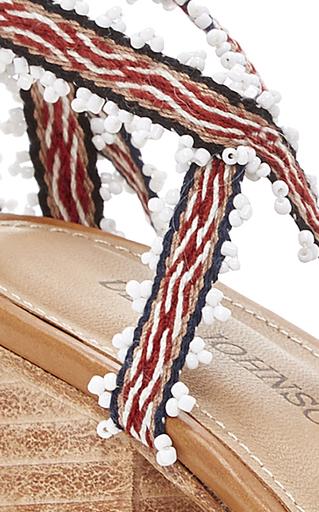Rowena Handloom Heel by ULLA JOHNSON for Preorder on Moda Operandi