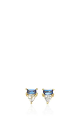 Medium ila collection blue nayra studs