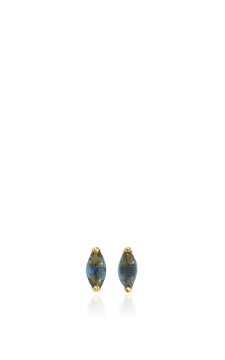 Medium ila collection blue stanton earrings