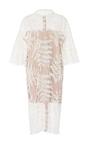 Organza Flower Net Midi Dress  by ALENA AKHMADULLINA for Preorder on Moda Operandi