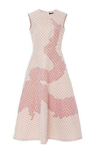 Quilted A Line Dragon Midi Dress  by ALENA AKHMADULLINA for Preorder on Moda Operandi