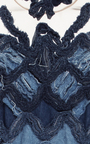 Couture Denim Midi Dress  by ALENA AKHMADULLINA for Preorder on Moda Operandi