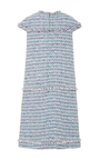 Cap Sleeve Fringe Detail Tweed Dress  by ALENA AKHMADULLINA for Preorder on Moda Operandi