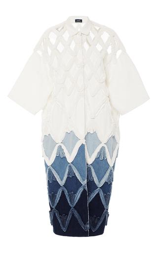 Couture Denim Shirt Dress by ALENA AKHMADULLINA for Preorder on Moda Operandi