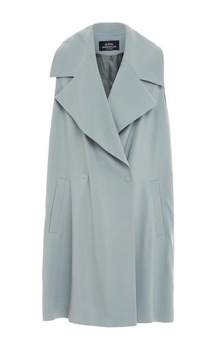 Medium alena akhmadullina blue double breasted oversized vest