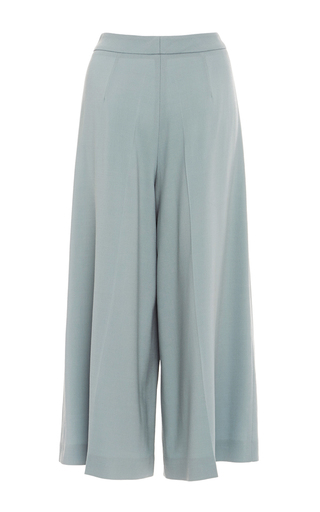 Wide Leg Cropped Trousers by ALENA AKHMADULLINA for Preorder on Moda Operandi