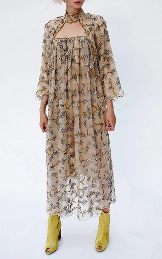 Embroidered Sequin Midi Dress by ALENA AKHMADULLINA for Preorder on Moda Operandi