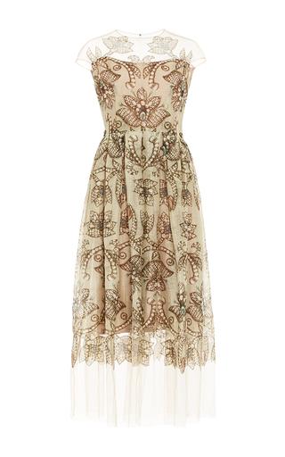 A Line Gemstone Print Dress by ALENA AKHMADULLINA for Preorder on Moda Operandi