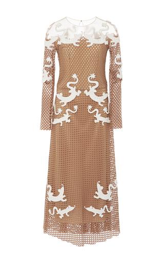 Embroidered Net Midi Dress  by ALENA AKHMADULLINA for Preorder on Moda Operandi
