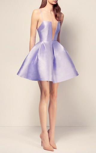 The Ruby Silk Strapless Crinoline Mini Dress by ALEX PERRY for Preorder on Moda Operandi