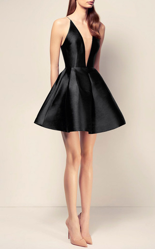 The Ciara Silk Bikini Crinoline Mini Dress by ALEX PERRY for Preorder on Moda Operandi