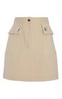 Stretch Cotton Mini Skirt by ADAM LIPPES for Preorder on Moda Operandi