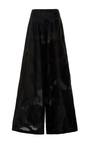 Silk And Cotton Jacquard Wide Leg Pant by ADAM LIPPES for Preorder on Moda Operandi