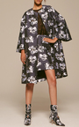 Floral Jacquard Opera Coat by ADAM LIPPES for Preorder on Moda Operandi