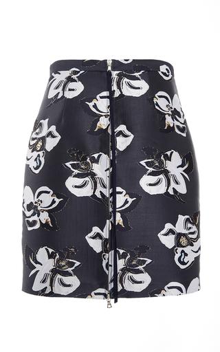 Floral Jacquard Mini Skirt by ADAM LIPPES for Preorder on Moda Operandi