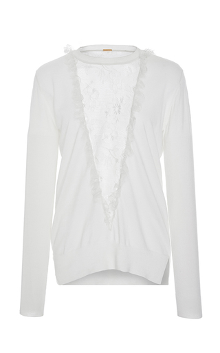 Merino Knit Top by ADAM LIPPES for Preorder on Moda Operandi