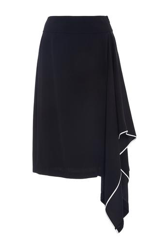 Silk Crepe A Line Skirt by ADAM LIPPES for Preorder on Moda Operandi