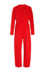 Stretch Silk Crepe Jumpsuit by ADAM LIPPES for Preorder on Moda Operandi