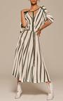 Striped Silk Knit Dress by ADAM LIPPES for Preorder on Moda Operandi