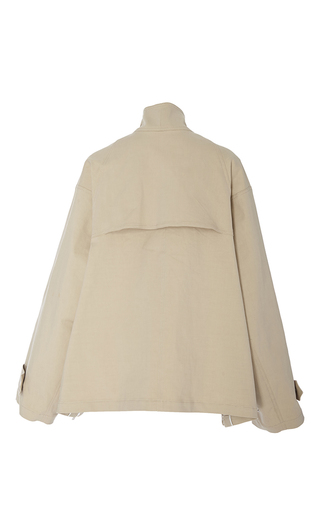 Stretch Cotton Cropped Anorak by ADAM LIPPES for Preorder on Moda Operandi