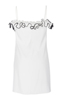 Silk Crepe Flounce Ruffle Camisole by ADAM LIPPES for Preorder on Moda Operandi