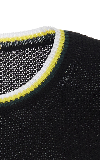 Cotton Waffleknit Sweater by ADAM LIPPES for Preorder on Moda Operandi