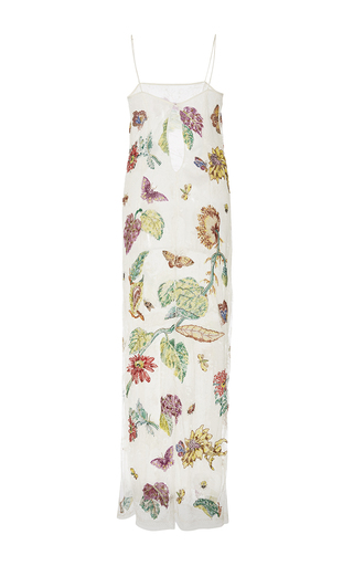 `paravicini' Floral Sequin Embroidered Dress by ADAM LIPPES for Preorder on Moda Operandi