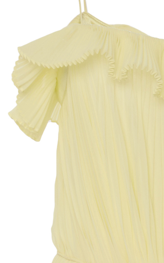 Silk Starburst Dress by ADAM LIPPES for Preorder on Moda Operandi