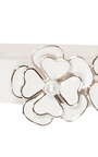 Floral Embellished Waist Belt by CO for Preorder on Moda Operandi