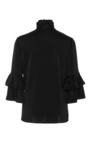Ruffled Button Front Blouse by CO for Preorder on Moda Operandi