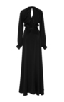 Long Sleeve Wrap Gown by CO for Preorder on Moda Operandi