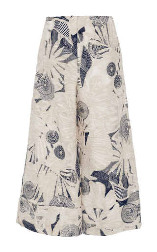 Printed Jacquard Culottes by CO for Preorder on Moda Operandi