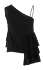 Asymmetric Fine Knit Top by CO for Preorder on Moda Operandi